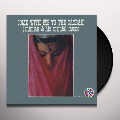 GANIMIAN & HIS ORIENTAL MUSIC COME WITH ME TO THE CASBAH Vinyl Record - UK Release