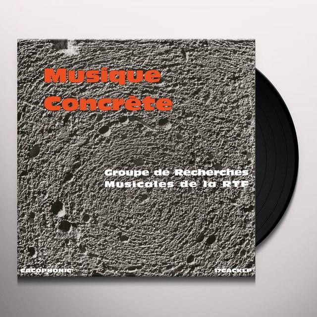 MUSIQUE CONCRETE / VARIOUS (UK) MUSIQUE CONCRETE / VARIOUS Vinyl Record - UK Release