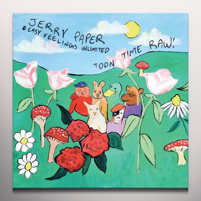 Jerry Paper TOON TIME RAW Vinyl Record - Colored Vinyl, Purple Vinyl