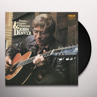 John Denver POEMS PRAYERS & PROMISES Vinyl Record - 180 Gram Pressing
