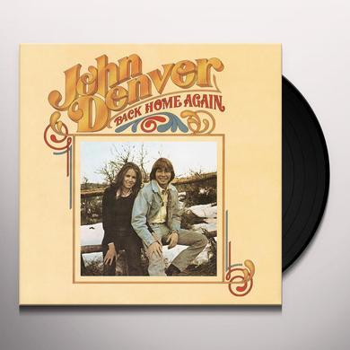 John Denver BACK HOME AGAIN Vinyl Record - 180 Gram Pressing