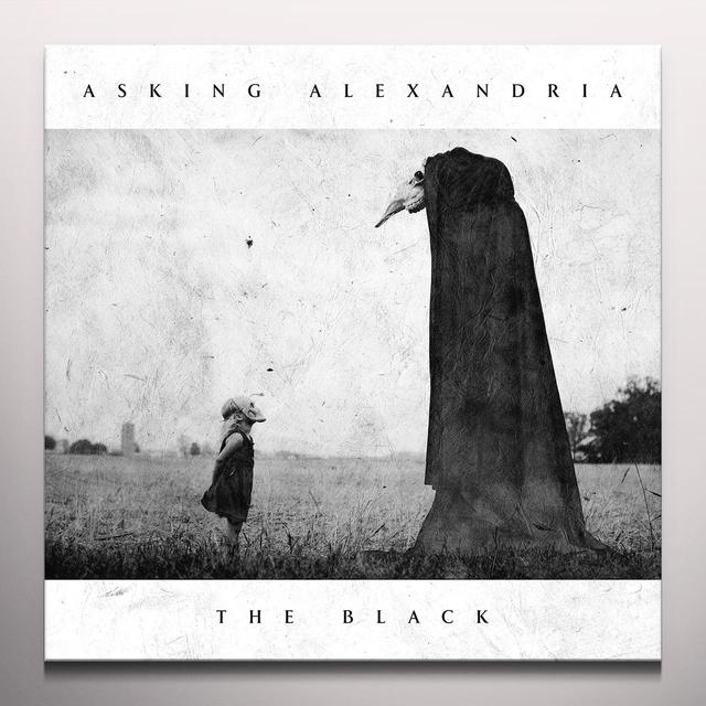 Asking Alexandria BLACK Vinyl Record - Colored Vinyl, Red Vinyl, Digital Download Included