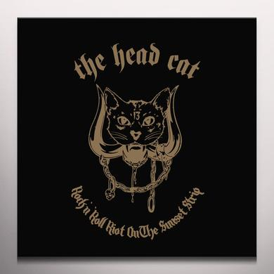 Head Cat ROCK N' ROLL RIOT ON THE SUNSET STRIP Vinyl Record - Clear Vinyl, Limited Edition