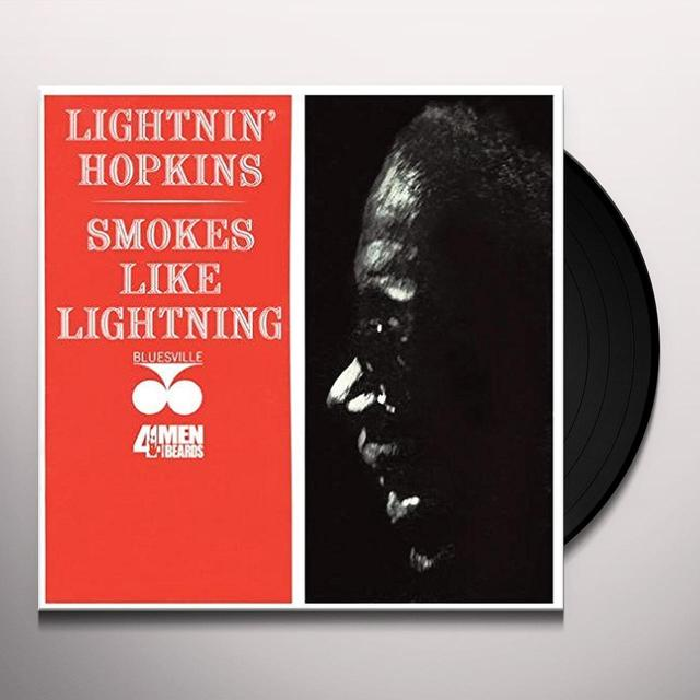 Lightnin' Hopkins on Spotify SMOKES LIKE LIGHTNING Vinyl Record - 180 Gram Pressing