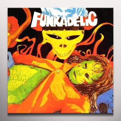 Funkadelic LET'S TAKE IT TO THE STAGE Vinyl Record - Colored Vinyl