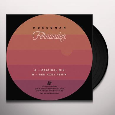MOSCOMAN FERNANDEZ (RED AXES REMIX) Vinyl Record