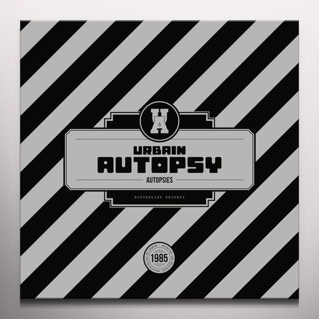 URBAIN AUTOPSY AUTOPSIES Vinyl Record - Colored Vinyl, Red Vinyl