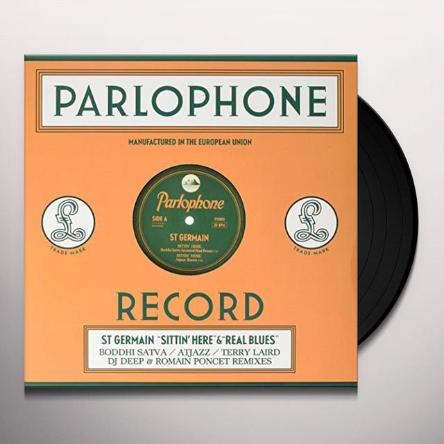St Germain SITTIN HERE (REMIXES) (FRA) Vinyl Record