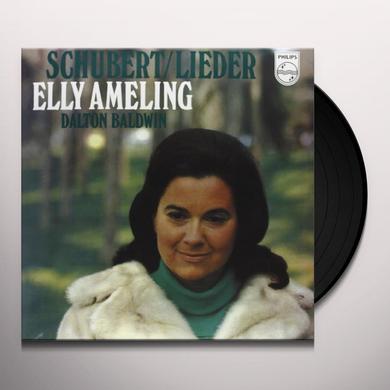 Schubert / Elly Ameling LIEDER (GER) Vinyl Record