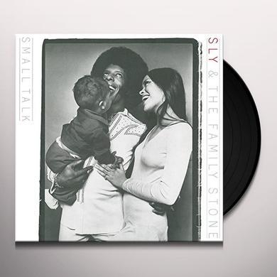 Sly & The Family Stone SMALL TALK Vinyl Record