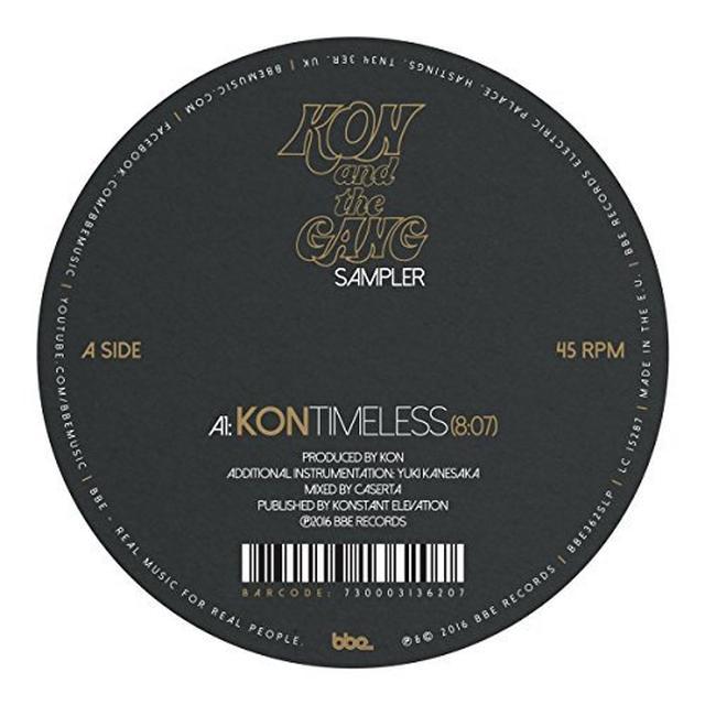 Kon / Rainer Truby / Corrado Bucci / Truccy TIMELESS / CLOSER Vinyl Record - UK Release