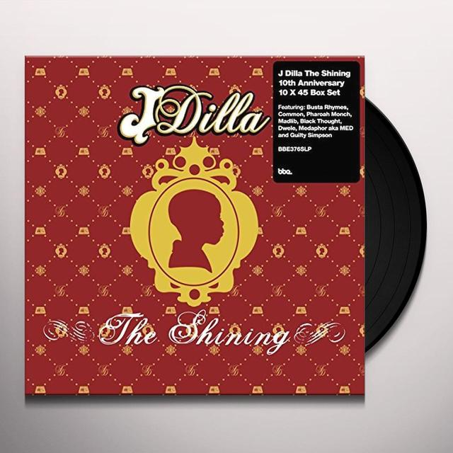 J Dilla aka Jay Dee SHINING: 10TH ANNIVERSARY 7 INCH COLLECTION (BOX) Vinyl Record