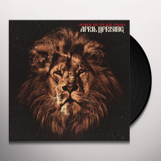John Trio Butler APRIL UPRISING Vinyl Record - UK Import
