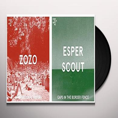 ZOZO / ESPER SCOUT INTERNATIONAL WATERS / GAPS IN THE BORDER FENCE Vinyl Record