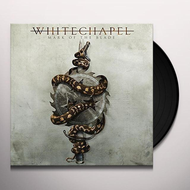 Whitechapel MARK OF THE BLADE Vinyl Record - UK Release