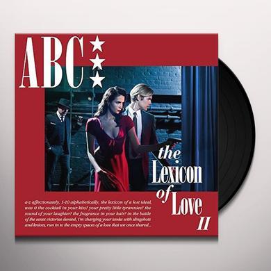 Abc LEXICON OF LOVE II Vinyl Record - Canada Import