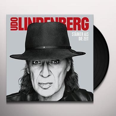 Udo Lindenberg STARKER ALS DIE ZEIT Vinyl Record
