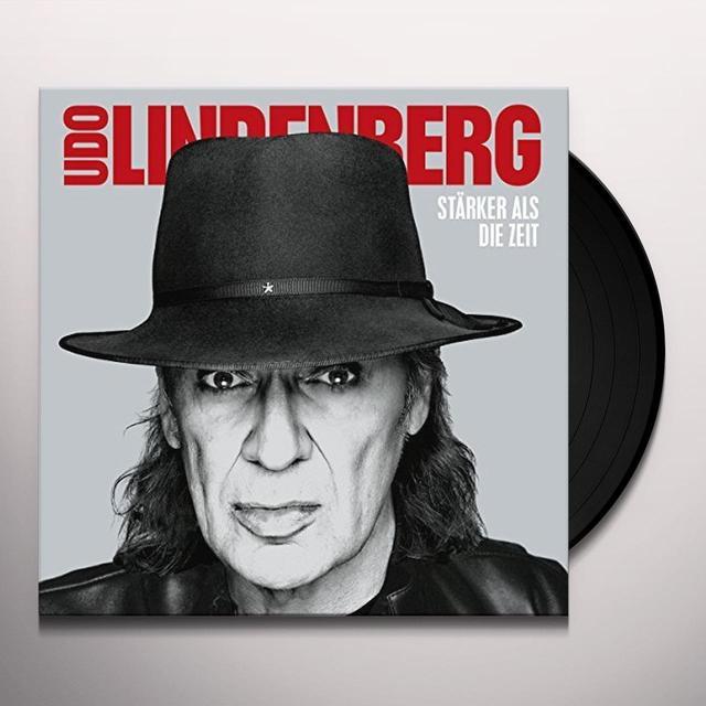 Udo Lindenberg STARKER ALS DIE ZEIT (HK) Vinyl Record
