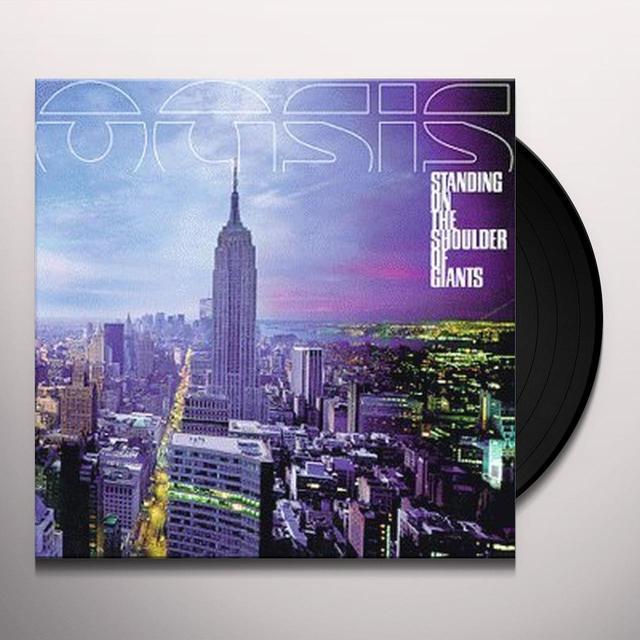 Oasis STANDING ON THE SHOULDER OF GIANTS Vinyl Record - Gatefold Sleeve