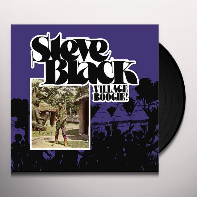Steve Black VILLAGE BOOGIE Vinyl Record