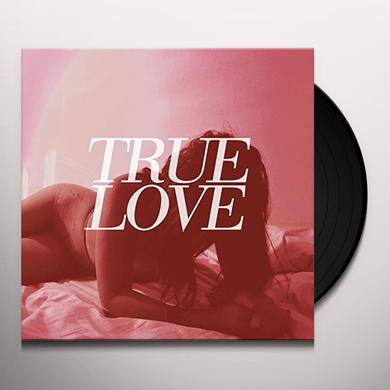True Love HEAVEN'S TOO GOOD FOR US Vinyl Record