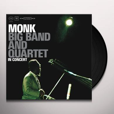 Thelonious Monk BIG BAND & QUARTET IN CONCERT Vinyl Record - 180 Gram Pressing