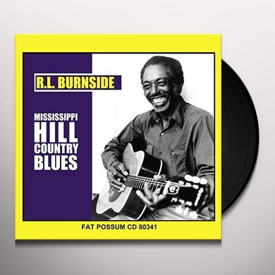R.L. Burnside MISSISSIPPI HILL COUNTRY BLUES Vinyl Record