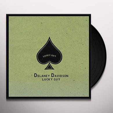 Delaney Davidson LUCKY GUY Vinyl Record