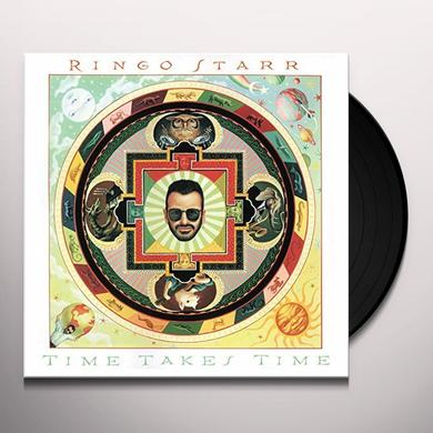 Ringo Starr TIME TAKES TIME Vinyl Record - Gatefold Sleeve, Limited Edition, 180 Gram Pressing