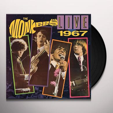 Monkees LIVE 1967-50TH ANNIVERSARY EDITION Vinyl Record - Gatefold Sleeve, Limited Edition