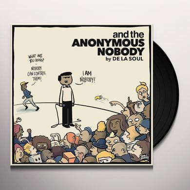 De La Soul AND THE ANONYMOUS NOBODY Vinyl Record