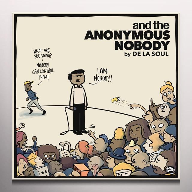 De La Soul AND THE ANONYMOUS NOBODY Vinyl Record - Colored Vinyl, Clear Vinyl, Limited Edition