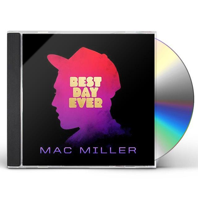 Mac Miller BEST DAY EVER CD