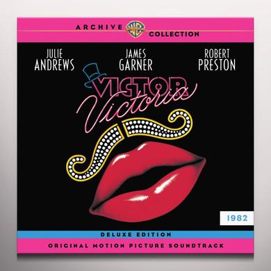 Henry Mancini VICTOR VICTORIA / O.S.T. Vinyl Record - Blue Vinyl, Gatefold Sleeve, Limited Edition, Pink Vinyl
