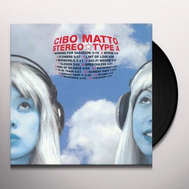 Cibo Matto STEREOTYPE A Vinyl Record