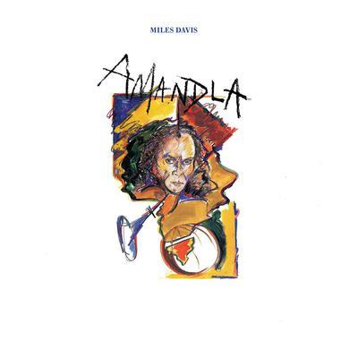 Miles Davis AMANDLA Vinyl Record