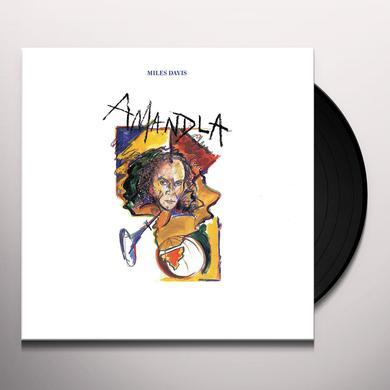Miles Davis AMANDLA Vinyl Record - 180 Gram Pressing