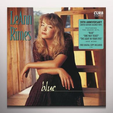 LeAnn Rimes BLUE - 20TH ANNIVERSARY EDITION Vinyl Record
