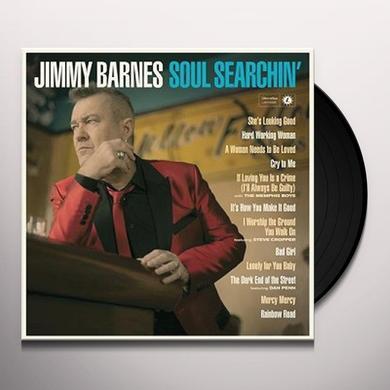 Jimmy Barnes SOUL SEARCHIN Vinyl Record - Australia Import