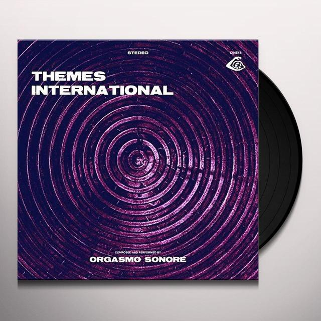Orgasmo Sonore THEMES INTERNATIONAL Vinyl Record - w/CD, UK Import