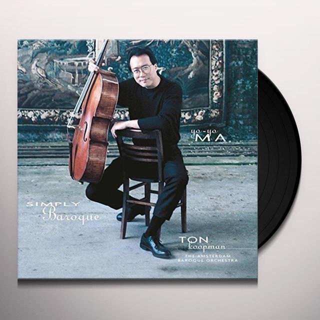 Yo-Yo Ma SIMPLY BAROQUE Vinyl Record - Holland Import