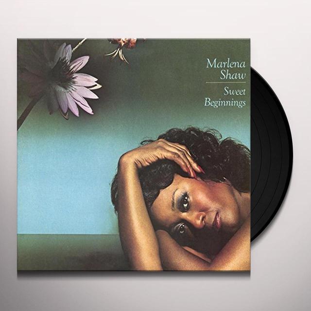 Marlena Shaw SWEET BEGINNINGS Vinyl Record - Holland Import