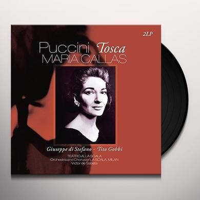 Puccini / Maria Callas PUCCINI: TOSCA Vinyl Record