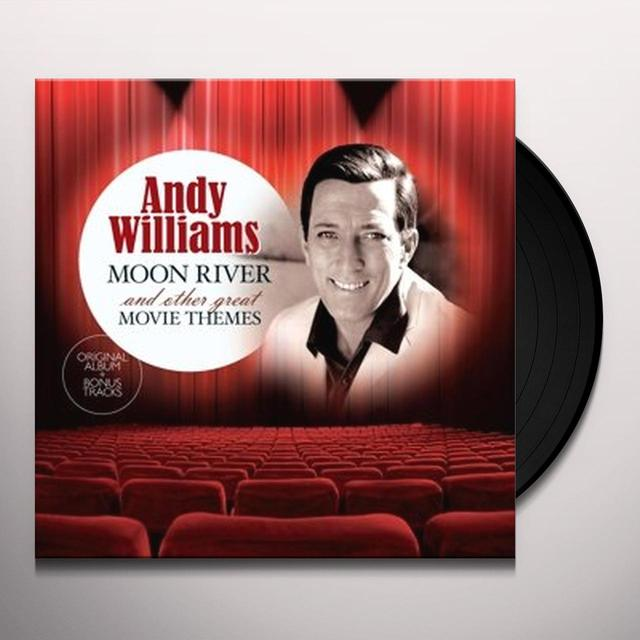 Andy Williams MOON RIVER & OTHER GREAT MOVIE THEMES Vinyl Record - Holland Import