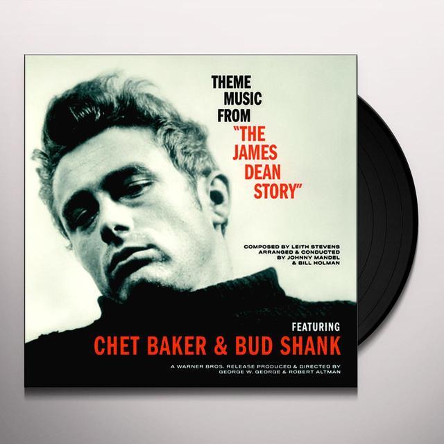 Bud Shank / Chet Baker THEME MUSIC FROM THE JAMES DEAN STORY Vinyl Record - 180 Gram Pressing, Spain Import