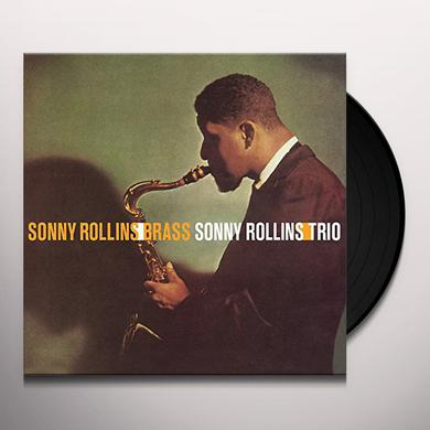 Sonny Rollins BRASS / TRIO Vinyl Record - 180 Gram Pressing, Spain Import