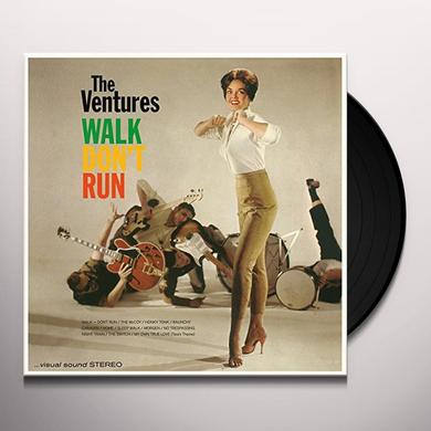 Ventures WALK DON'T RUN + 4 BONUS TRACKS Vinyl Record