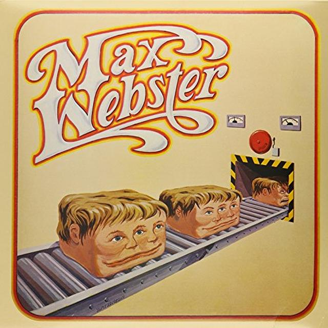 MAX WEBSTER Vinyl Record - Canada Import
