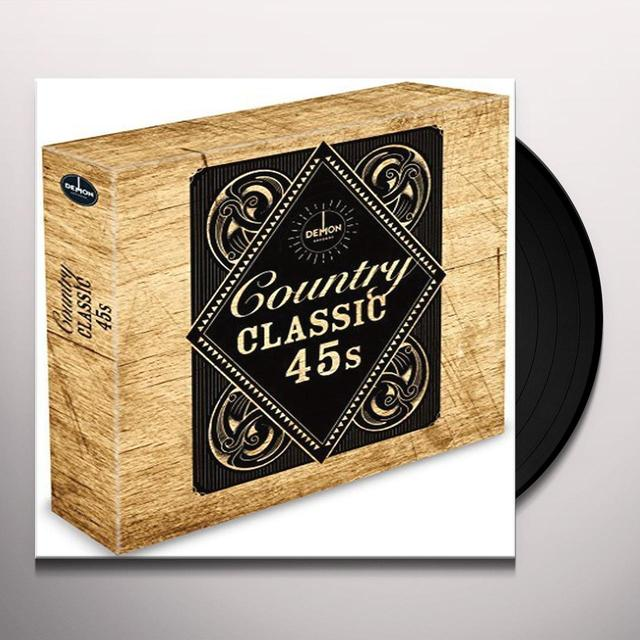 CLASSIC 45'S: CLASSIC COUNTRY / VARIOUS (BOX) (UK) CLASSIC 45'S: CLASSIC COUNTRY / VARIOUS (BOX) Vinyl Record - UK Import