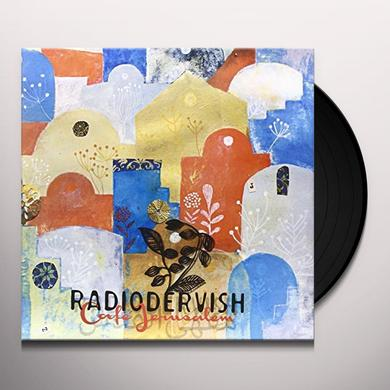 RADIODERVISH CAFE JERUSALEM Vinyl Record - Italy Import